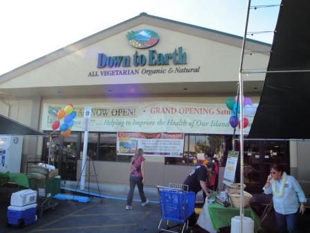 Down to Earth opening Hilo